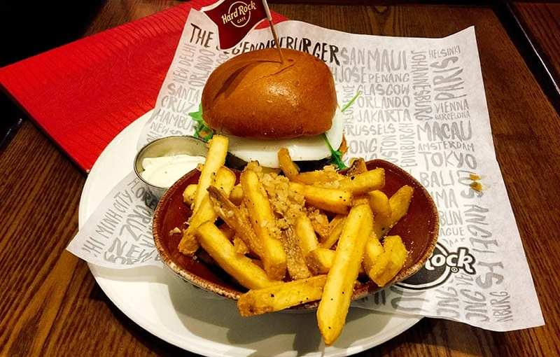 Hard Rock Cafe launches World Burger Tour 2017