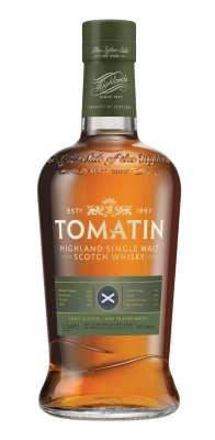 Tomatin whisky bottle