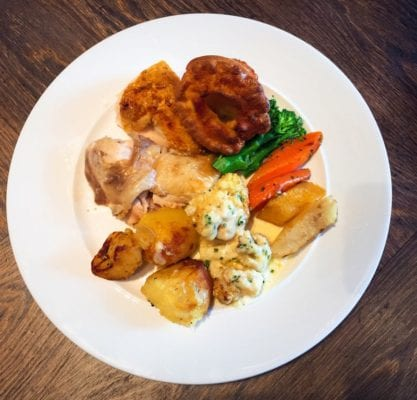 Blythswood square Sunday roast