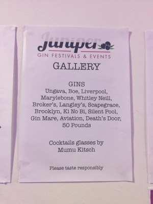 Glasgow juniper gin festival