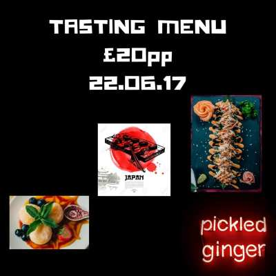 Pickled Ginger glasgow