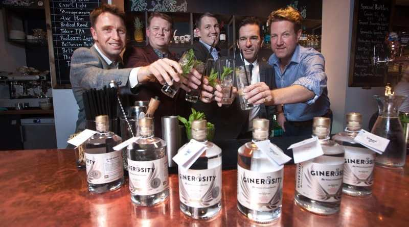 Ginerosity social enterprise gin