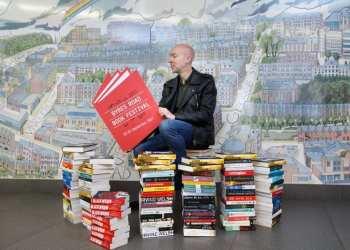 Christopher brookmyre west end book festival byres road