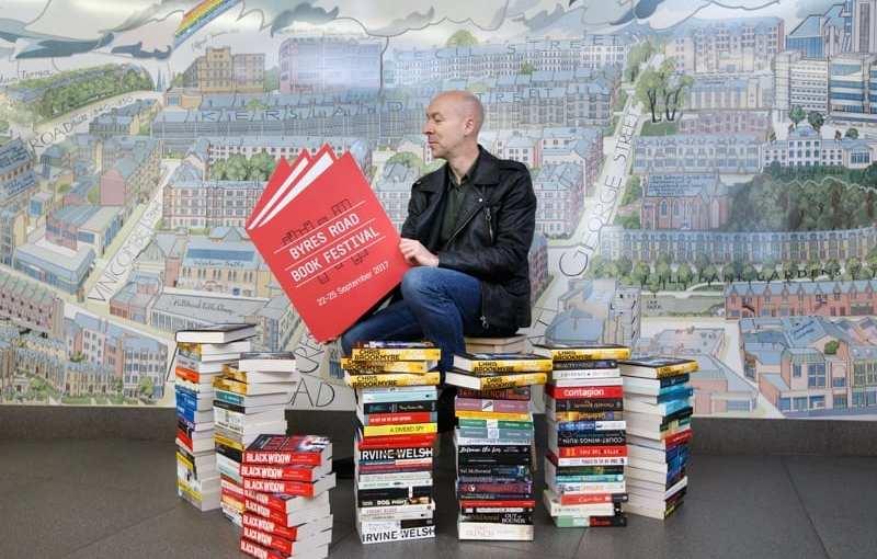 Event: Chris Brookmyre Announces Byres Road Book Festival Dates For 2017