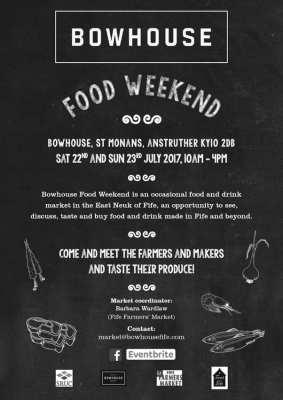 Now house Fife food festival
