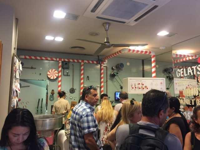 rocambolesc ice cream Girona