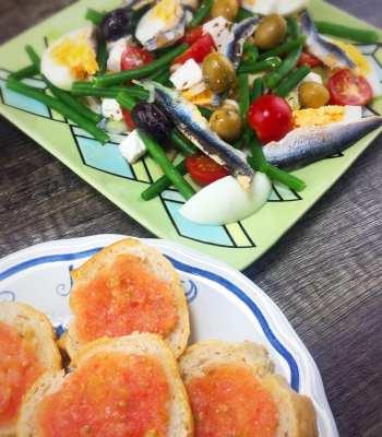 Tomato bread recipe Catalan Spain