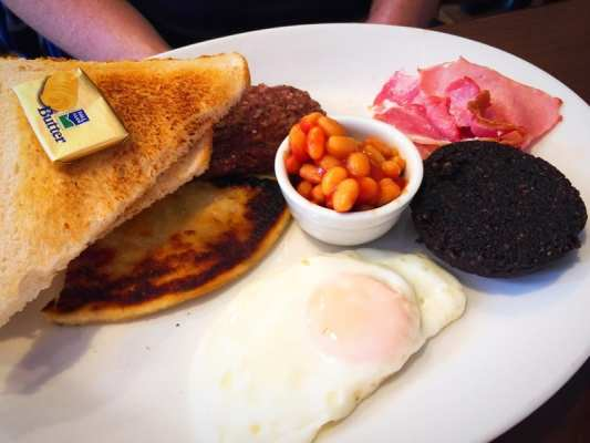 Greens coffee house Shawlands Southside glasgow breakfast