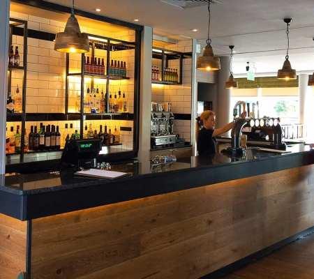 Hilton Garden inn glasgow restaurant Bar