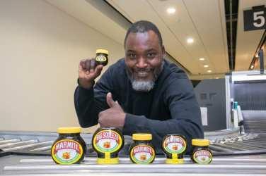 Marmite London city airport
