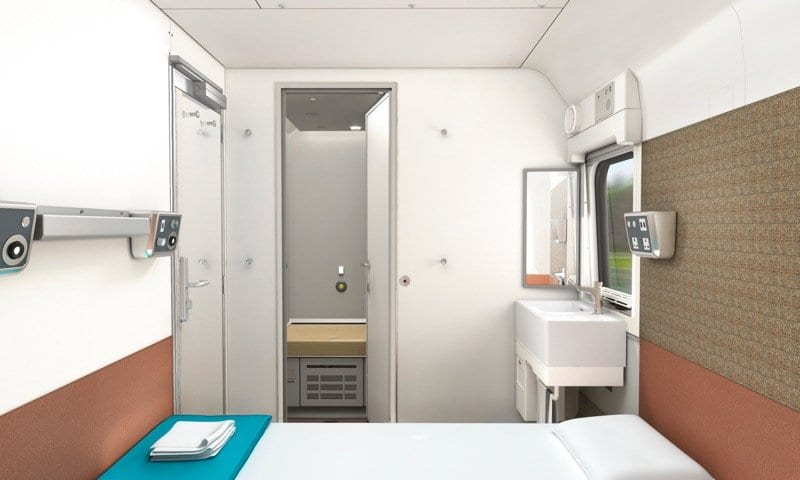News: First look at New Caledonian Sleeper trains