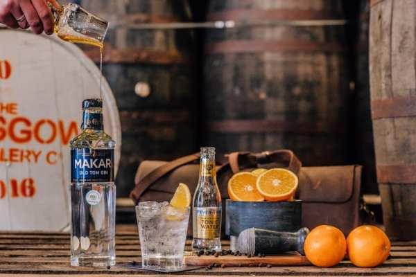 Makar gin glasgow distillery