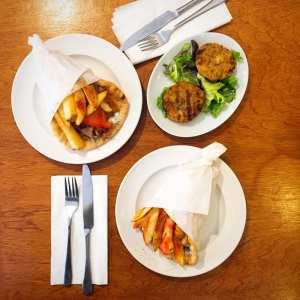 Yiamas Greek Glasgow city centre food