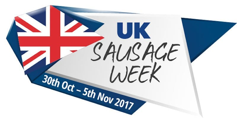 UK Sausage Week Launched – get your butcher to enter!