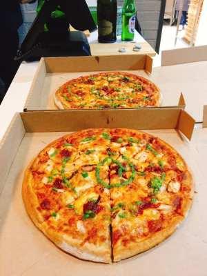 Nkd pizza Edinburgh gluten free