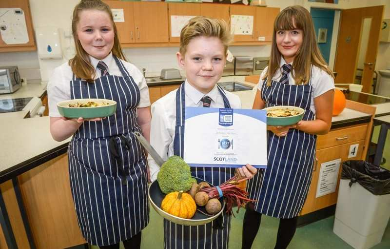 Scottish Food & Drink Fortnight 2017 schools challenge Winner announced