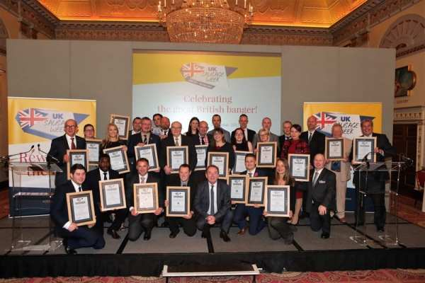 Uk sausage week 2017 Winners