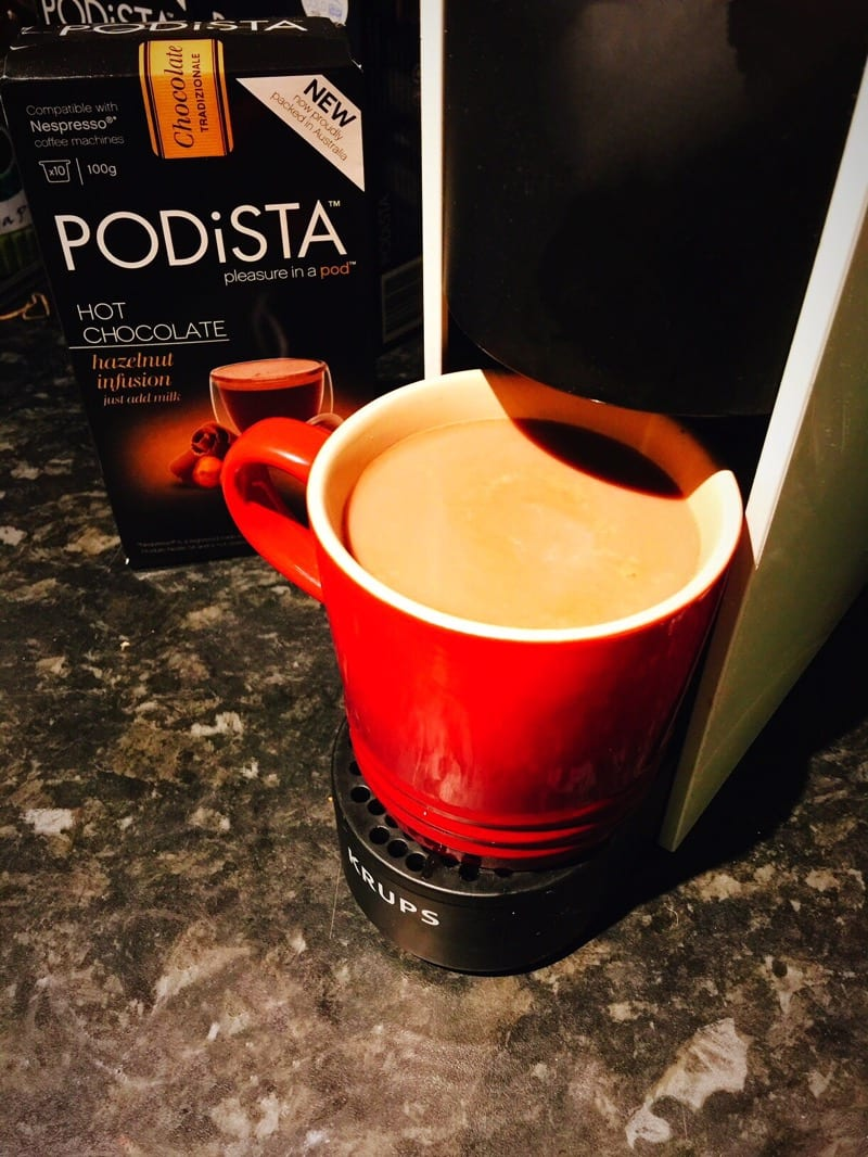 Review Nespresso Compatible Hot Chocolate From Mugpods