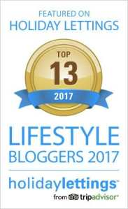 Holiday Lettings: Top 13 Lifestyle Bloggers