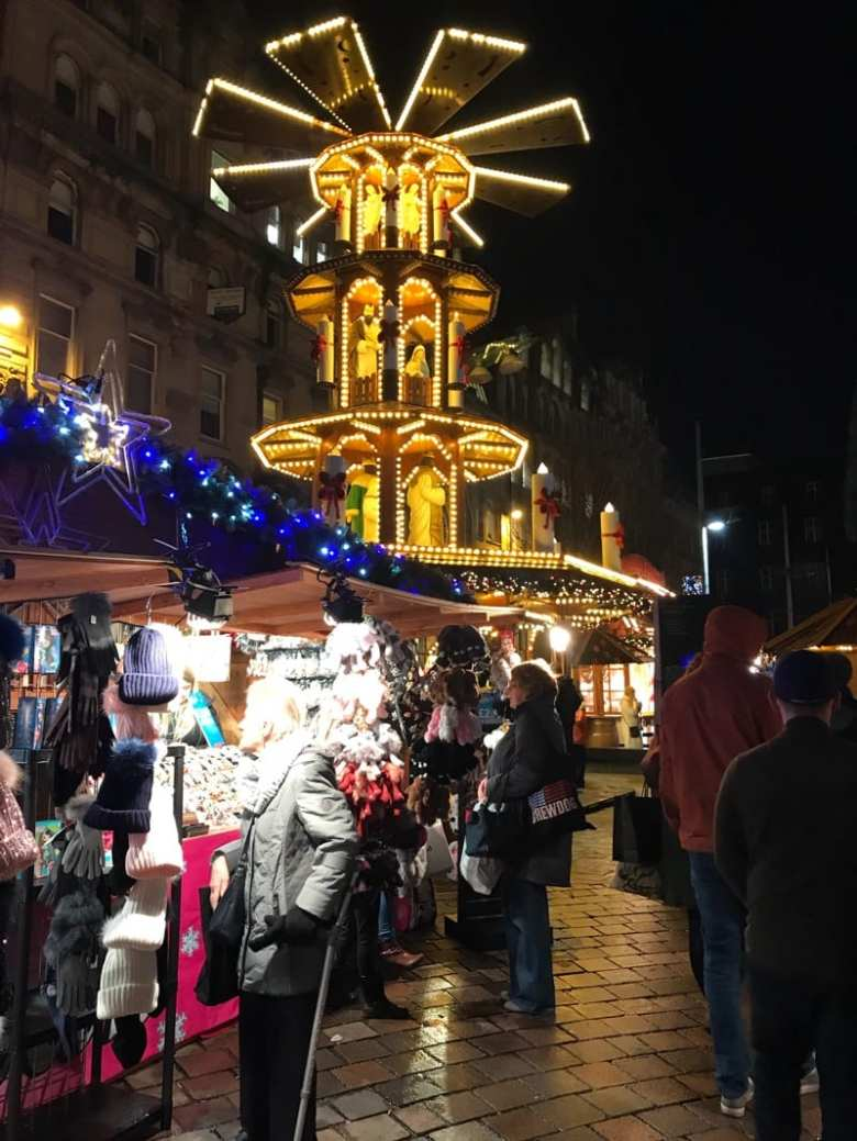 christmas market glasgow