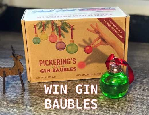 Pickering's Gin Baubles Christmas