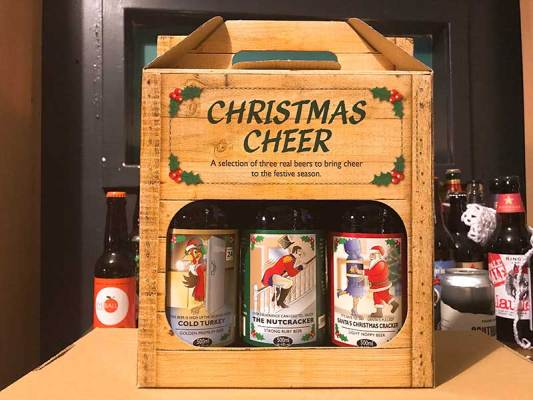 Cottage Delight - Christmas Cheer beer gift pack