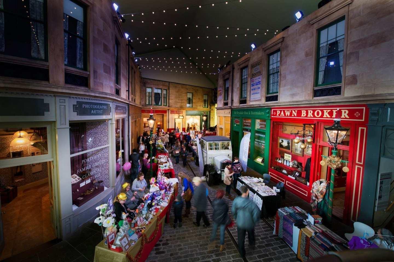 riverside museum christmas market image