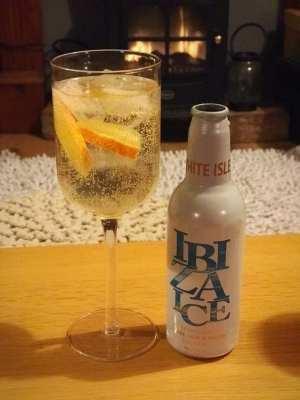 ibiza ice fruit wine cocktail