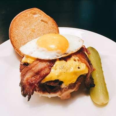 Byron – The Calvin Haggis burger