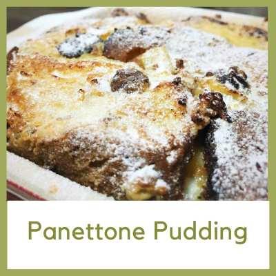 Panettone pudding recipe Christmas leftovers
