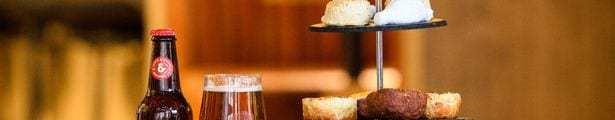 Macsween Innis and Gunn burns night Haggis Afternoon Tea