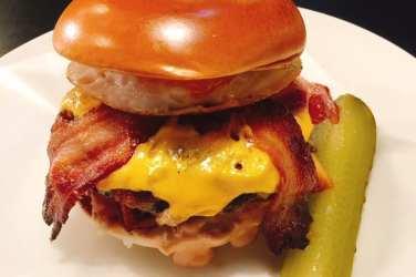 Byron - The Calvin Haggis burger