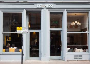 Six by Nico Edinburgh new restaurant