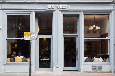 Six by Nico Edinburgh new restaurant