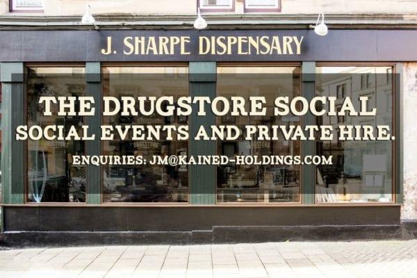 Drugstore social glasgow Yorkhill