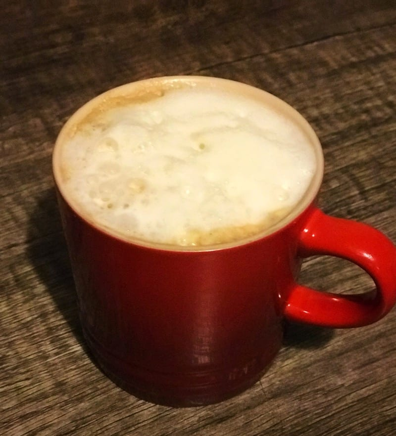 Aluna coconut macchiato rum winter warmer coffee recipe
