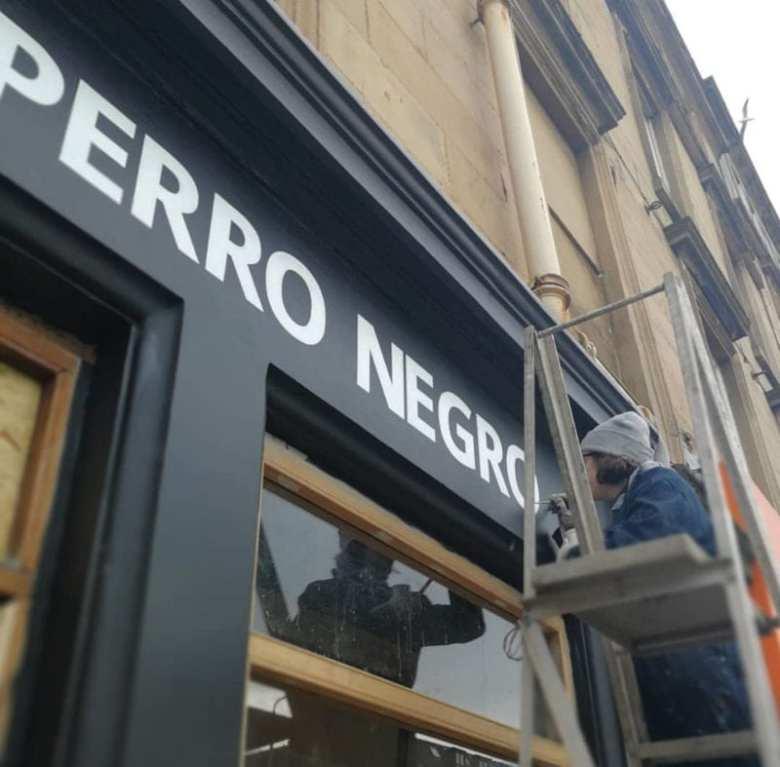 Burger El Perro negro Glasgow Finnieston