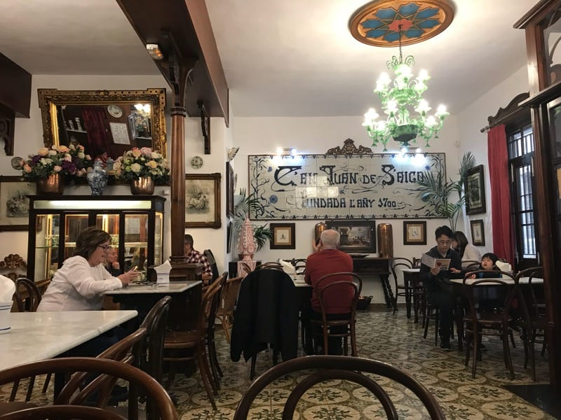 Palma's oldest cafe