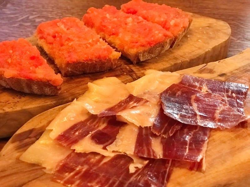 Iberica Spanish food glasgow spring menu