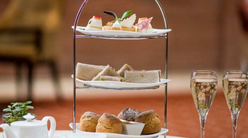 Waldorf Astoria Edinburgh afternoon tea the caledonian