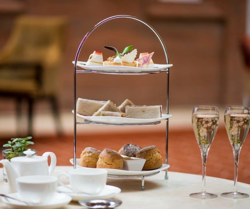 Waldorf Astoria Edinburgh afternoon tea the caledonian