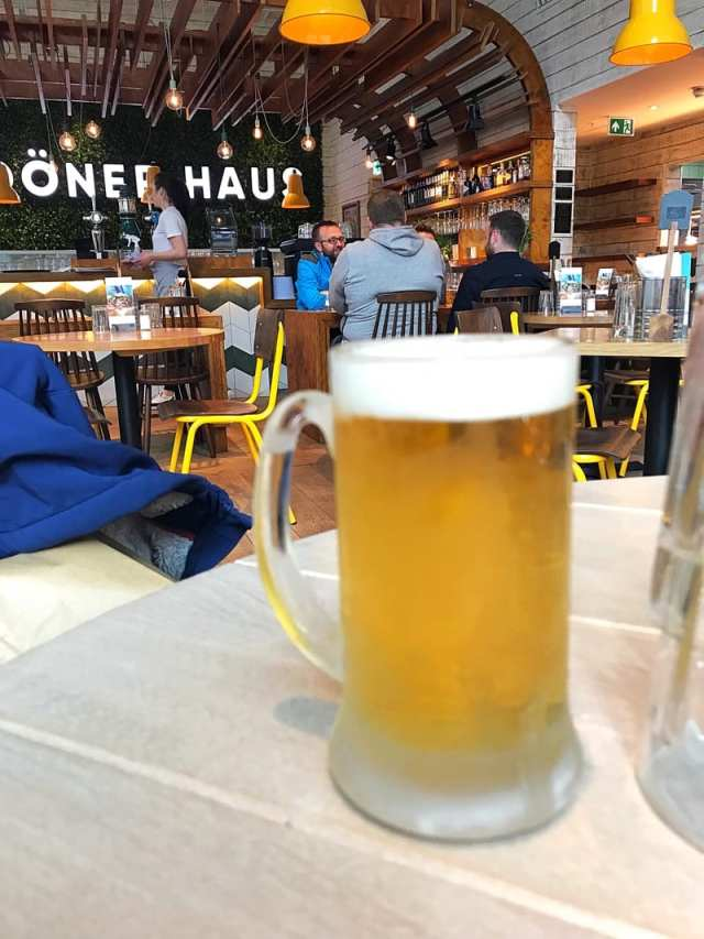 Beer Doner Haus glasgow
