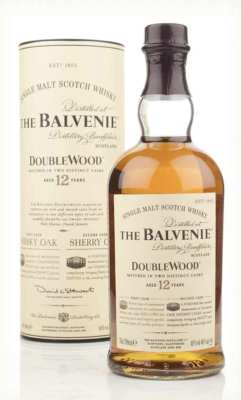 The Balvenie whisky bottle