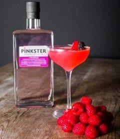 pinkster gin martini