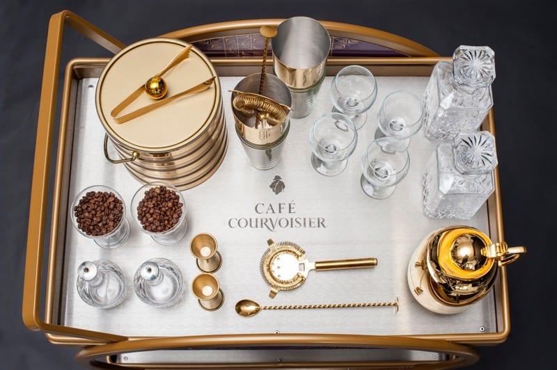 Cafe Courvoisier The Corinthian glasgow cognac