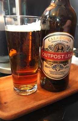 Caledonia outpost IPA foodie explorers beer review