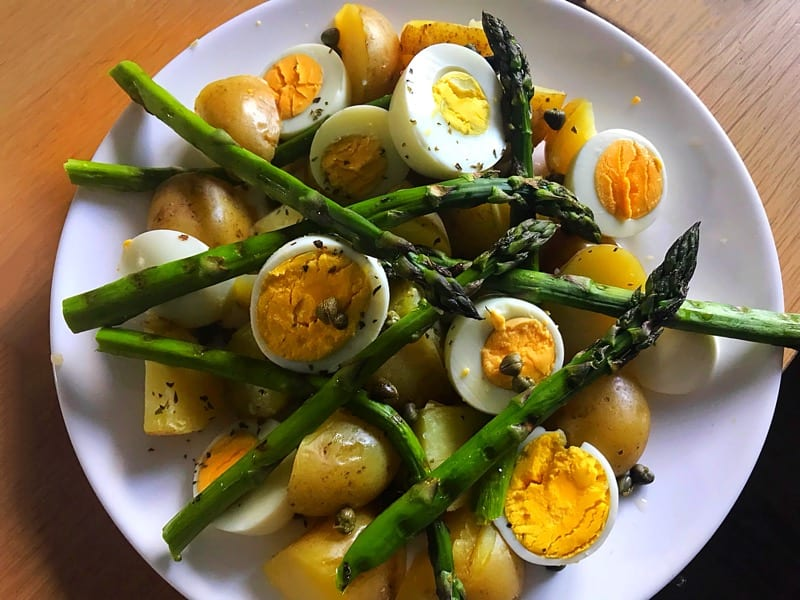 Scottish asparagus scotty Brand recipe