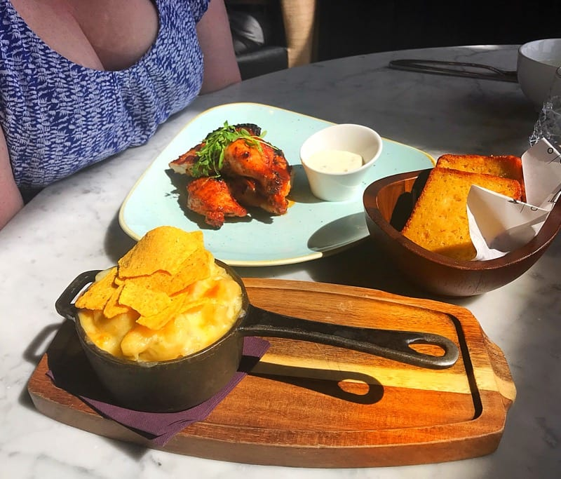 Twenty Princes street Edinburgh foodie explorers restaurant review