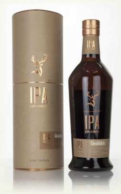 Glenfiddich IPA whisky bottle