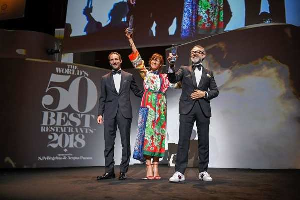 Massimo Bottura's Osteria Francescana wins again!